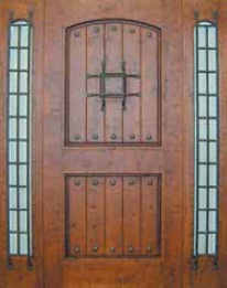Entry Wood Door